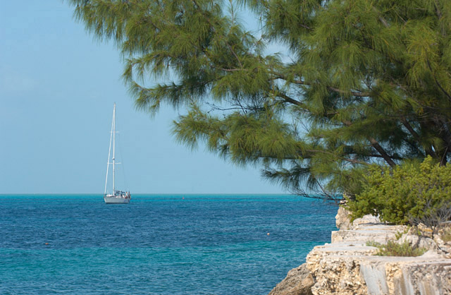 South-Caicos-Cockburn-Harbour-Sailboat-1