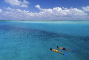 Sailrock Resort-Snorkelers-South Caicos
