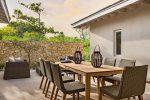 Sailrock Resort Beachfront Villa Garden Dining-2