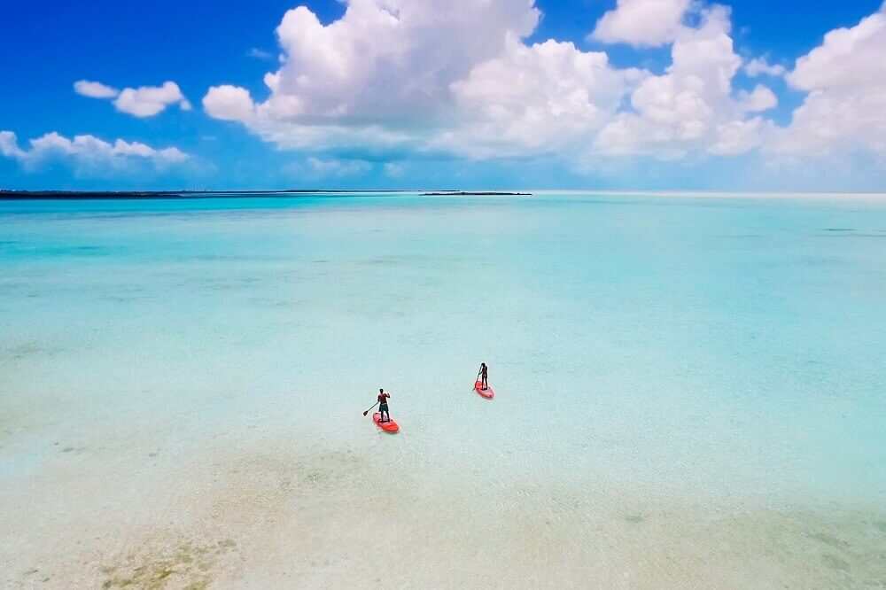 Turks and Caicos Stand-up Paddleboarding