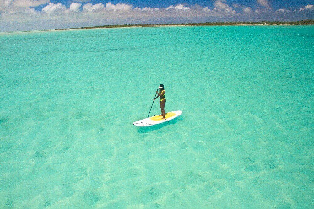 South Caicos Paddleboarding