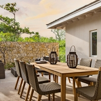 Sailrock Resort-Beachfront Villa-Garden Dining-2